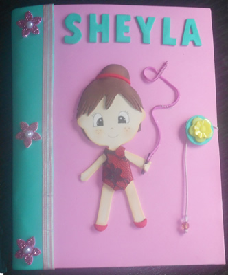 Funda Agenda, regalo para Sheyla