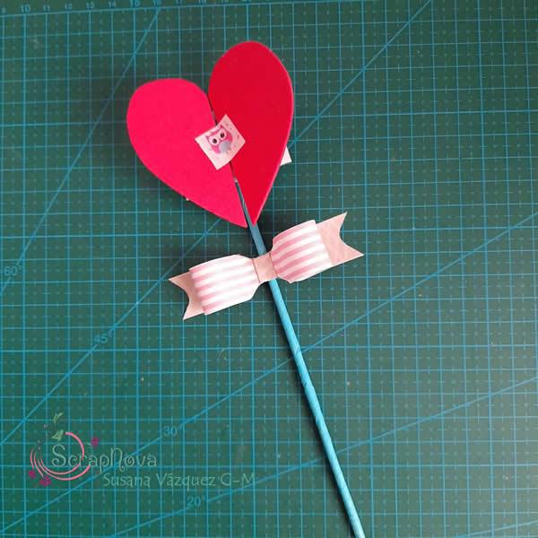 decoración corazón